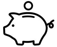 Taxpayer Savings - pig