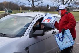 Delivering meals carside