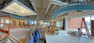 2nd floor - new library - pano