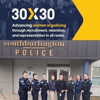 30 x 30 pledge - women in law enforcement  - police