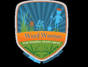 weed warrior logo