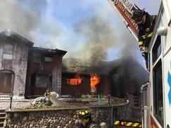 Williston mutual aid - fire - april 2021