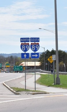 I-89 signs