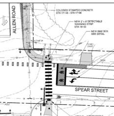 Allen Road SUP Construction