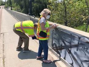 Kevin Dorn - graffiti removal