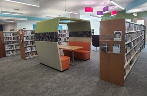 Library - reading nook