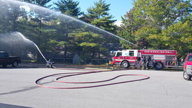 fire recruits - hoses and hydraulics