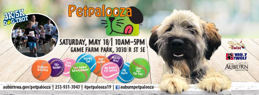 Petpalooza's 3K/5K Dog Trot - Race Results