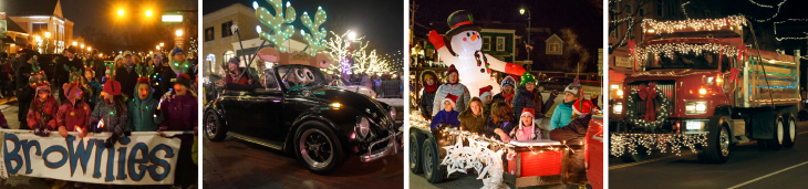 Lighted Parade Entry Examples