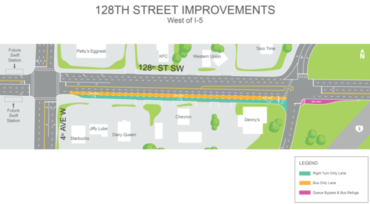 128th St Widening Project