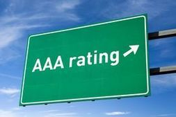 AAA Rating Highway Sign