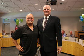 Trent Botham was recognized by CEO Emmett Heath at the July Board Meeting for 25 years of service.
