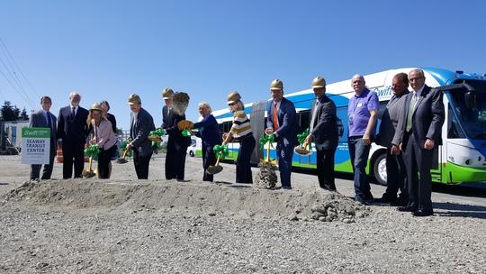 Swift Green Line Groundbreaking Ceremony