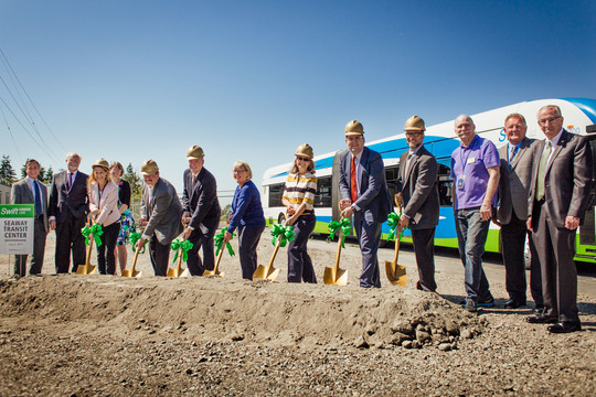 Swift Green Line Groundbreaking