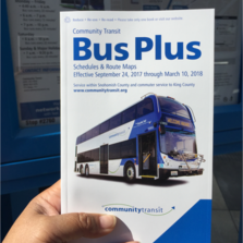 New Bus Plus Book for September 2017 Service