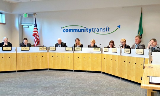 Community Transit Board December 7 2017