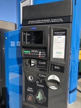 TVM Machine Upgrade