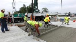 Seaway Concrete Pour