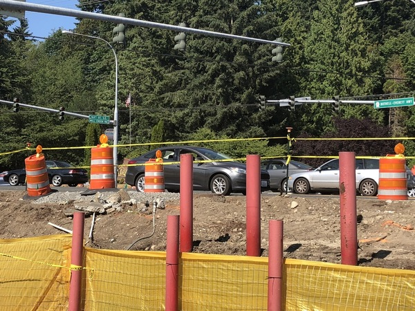164th & Bothell Everett Highway Project Progress