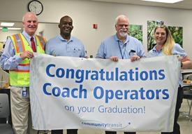 Coach Operator Grads August 3 2018