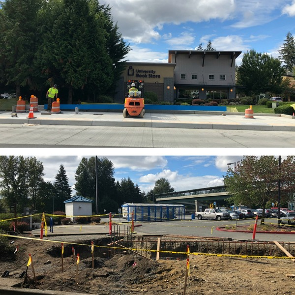 Collage Bothell-Everett Hwy work