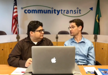 Martin and Roland co-host Community Transit Live