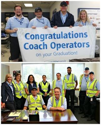 Coach Operator Graduates August-September 2018
