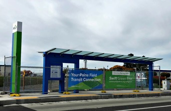 Swift Green Line Station at Paine Field