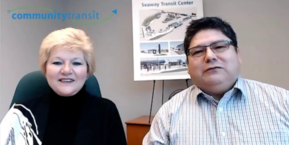 June and Martin-Community Transit LIVE