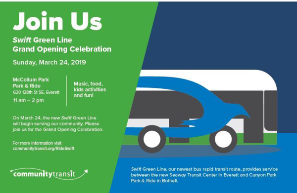 Join us for the Swift Green Line Launch Event
