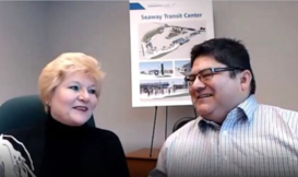 Martin and June hosting Community Transit LIVE