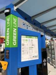 New Swift Green Line Signage