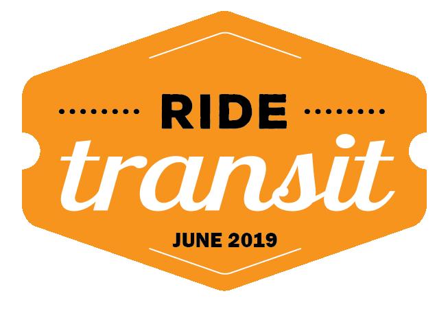 Ride Transit Month