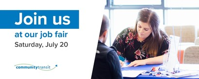 Join us for our Saturday, July 20 Job fair
