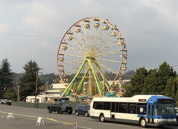 Evergreen State Fair Bus Route 271