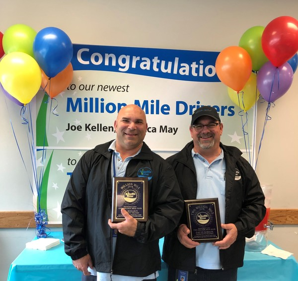 Million Mile Drivers