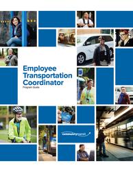 Cover of award-winning Employee Transportation Coordinator Program Guide