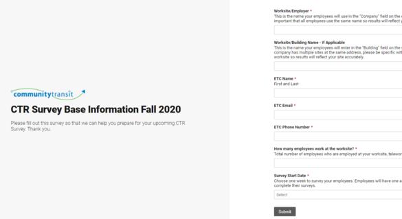 Base Info Form
