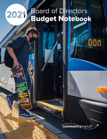 2021 Adopted Budget Cover