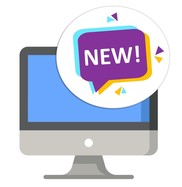 NEW MERIT enhancements computer icon