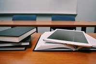 School work and books
