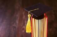Graduation book graduation cap
