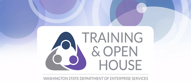Training and Open House Logo