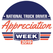 Image logo for National truck driver appreciation week 2019