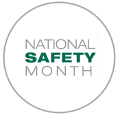 """Image of title """"National Safety Month"""""""