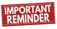 OFAH Important Reminder