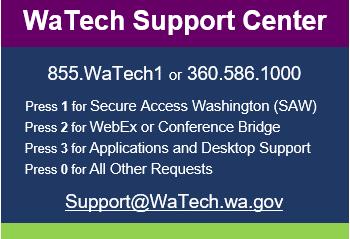 WaTech Contact