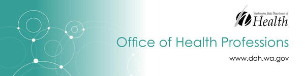 Office of Health Professions banner