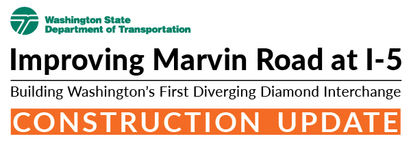 Improving Marvin Road at I-5 in Lacey