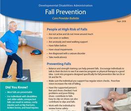 fall prevention bulletin